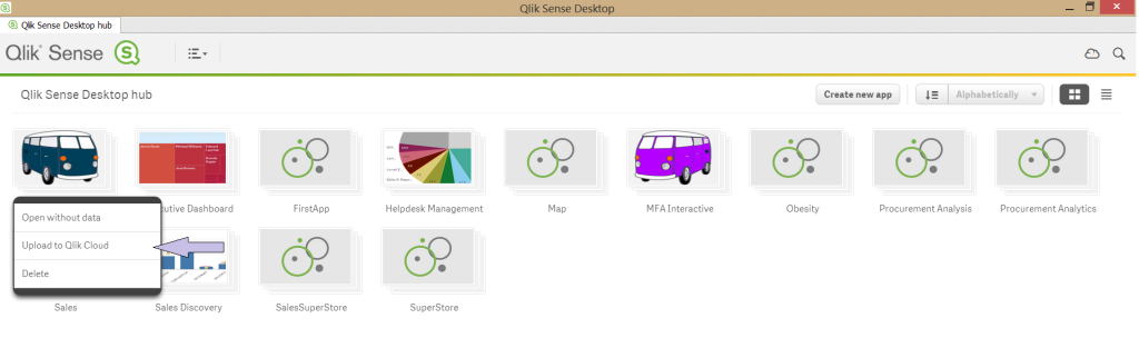 Introduction to Qlik Sense Cloud and Sharing Data Across | Prince