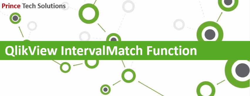 QlikView IntervalMatch Function | Prince Tech Solutions